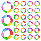 Vector Abstract Circles — Stock Vector