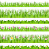 Vector Seamless Grass — Stock Vector