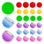 Vector Stickers — Stock Vector #6252282