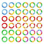 Cercles de vecteur — Vecteur