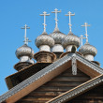 Wooden orthodox church — Stock Photo #6454940