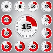 Timer — Stockvektor