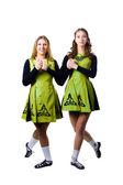 Irish dancers — Stock Photo