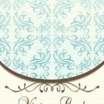 Düğün çerçeve — Stok Vektör
