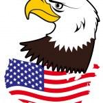 American bald eagle — Stock Vector #6744917