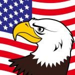 American bald eagle — Stock Vector #6744923