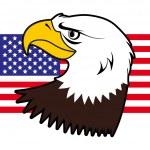 American bald eagle — Stock Vector #6744925