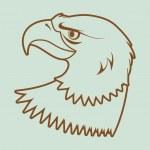 American bald eagle — Stock Vector #6744926