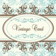 Royalty-Free Stock Vector Image: Vintage vector background card or book cover element