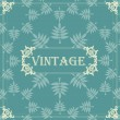 Vintage vector background — Stock Vector #6745398