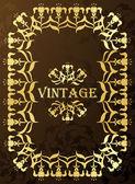Vintage collection d'illustration images et éléments florale — Vecteur