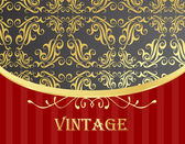 Vintage vector background — Stock Vector
