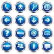 Vector de stock : Web Site & Internet Icons - SET ONE
