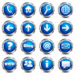 Web Site & Internet Icons - SET ONE — Vettoriale Stock #6236464