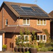 Solar panels on house — Stock Photo #6388648