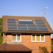 Solar panels on house — Stock Photo #6388683