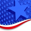 Stars &amp;amp; Stripes with Single star - 
