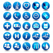 Health Care icons — Stock Vector