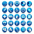 Royalty-Free Stock Vector Image: Health Care icons