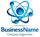 Dynamic Logo — Stock Vector