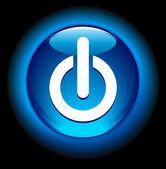 Power On Button — Stock Vector