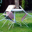 Garden Chairs - Stock Photo