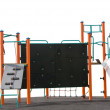 Stock Photo: Childrens Climbing Frame