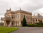 Brodsworth Hall driveway view — Stock Photo