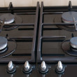 Stock Photo: Cooker Hob