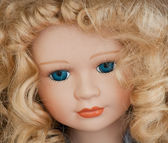 Doll's Face — Stock Photo