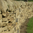 Stock Photo: Dry Stone Walling