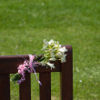 Flowers in Remembrance - Stock Photo