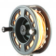 Stock Photo: Fly fishing reel
