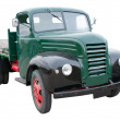 Stock Photo: Green Lorry