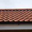 Modern Tiled Roof — Stock Photo