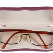 Stock Photo: Glasses in case
