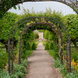 Archway Path - Stock Photo
