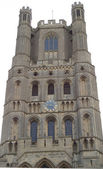 Cathedral clock Tower — Stock Photo
