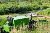 Farmers Irrigation Pump — Stock Photo