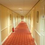 Hotel Corridor — Stock Photo #6103092