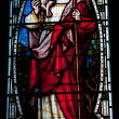 Jesus Stained Glass — Stock Photo