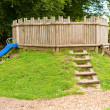 Stock Photo: Childrens Playground Fort