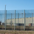 Stock Photo: Prison Security Fence