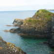 Stock Photo: Mevagissey Rock Coastline