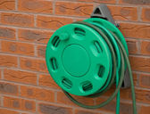 Hose Pipe and Holder — Stock Photo