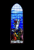 Stained Glass Window — Zdjęcie stockowe