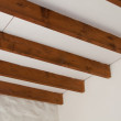 Stock Photo: Roof Beams