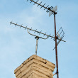 Stock Photo: TV Aerials
