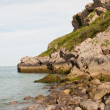 Stock Photo: Barafundle Jagged coastline