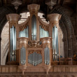 Cathedral Organ - Stock Photo